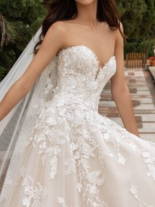 Barcelona Ball Bridal Wedding Gown Singapore SingaporeGownRental