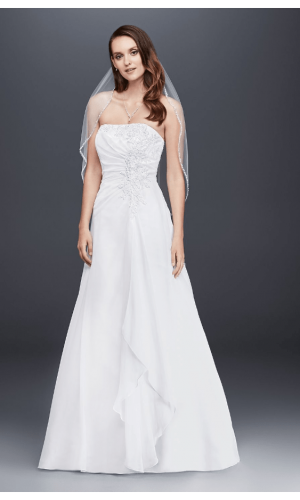 Bordeaux A Line Bridal Wedding Gown Singapore SingaporeGownRental