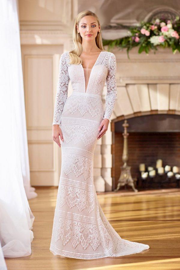 Bristol Sheath Bridal Wedding Gown Singapore SingaporeGownRental