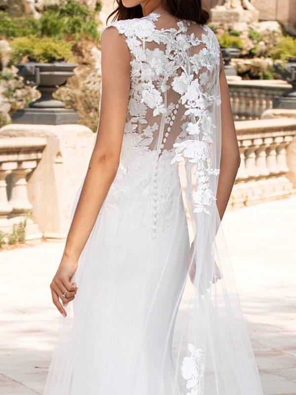 Florence Mermaid Bridal Wedding Gown Singapore SingaporeGownRental