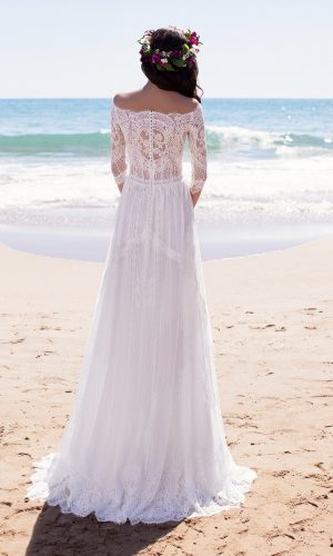 Megara ROM Dress Rental Singapore Solemnisation Marriage Gown Rental SingaporeGownRental