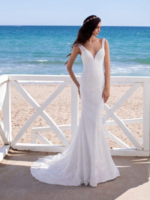 Milan Mermaid Bridal Wedding Gown Singapore SingaporeGownRental