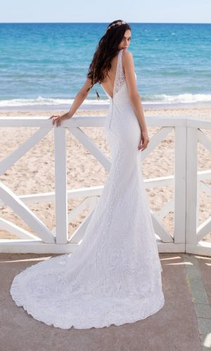 Florence Mermaid Bridal Wedding Gown Singapore SingaporeGownRental