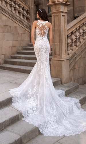 Rome Mermaid Bridal Wedding Gown Singapore SingaporeGownRental