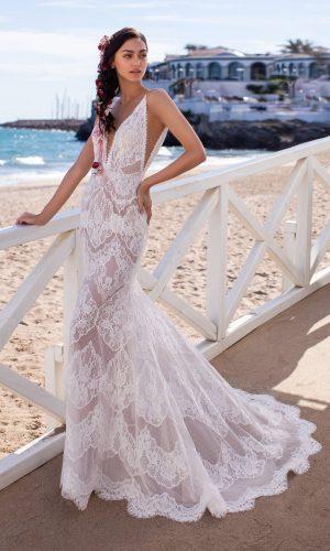 Sicily Mermaid Bridal Wedding Gown Singapore SingaporeGownRental