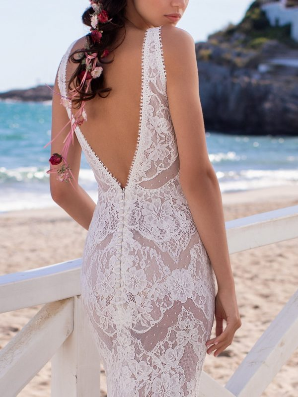 Sicily Mermaid Bridal Wedding Gown Singapore SingaporeGownRental